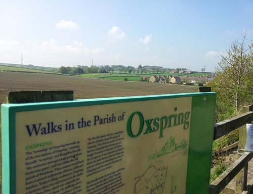 Oxspring from the Pennine Trail