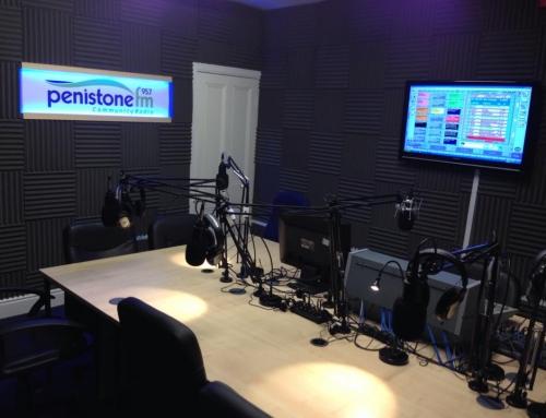 Penistone FM Studio 3