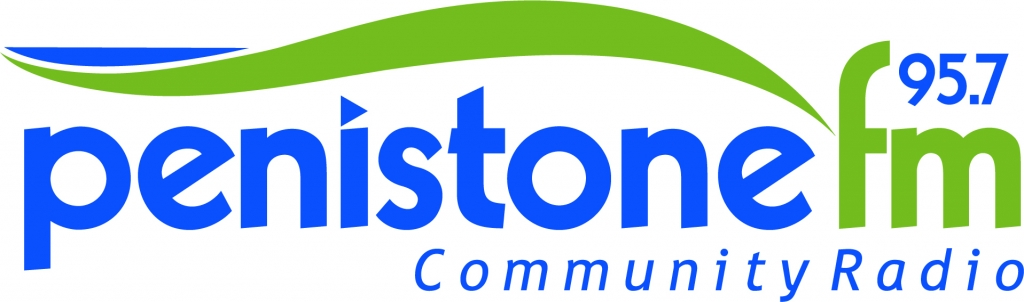 95.7 Penistone FM – The Heart of the Community Logo